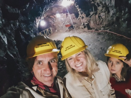 Underground tour at Quincy